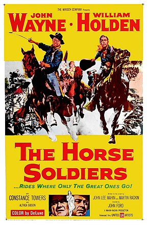 Description de l'image Horse Soldiers 1959.jpg.