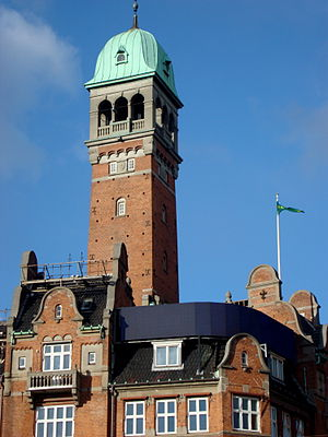 Hotel Bristol (Copenhagen) - The tower of Hotel Bristol