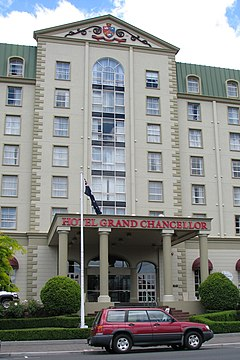 Hotel Grand Chancellor Adelaide On Currie Restaurant