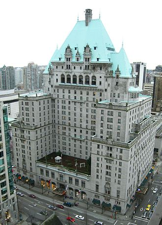 Hotel Vancouver - Present day Hotel Vancouver