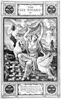 The Six Swans German fairy tale