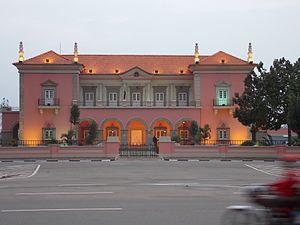 Huambo - Governor's Palace, Cidade Alta, Huambo, Angola