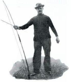 Hubert Van Innis Belgian archer