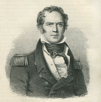 Hugh Clapperton - An engraving by Thomas Goff Lupton from a picture by Gildon Manton (1828)