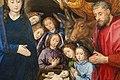 Hugo van der Goes, adorazione dei pastori tra due profeti, 1480 ca. 10.JPG