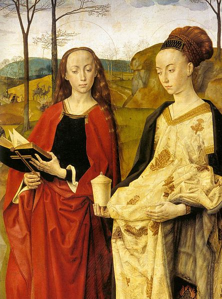 File:Hugo van der goes portinari triptych right st margaret st mary magdalene.jpg