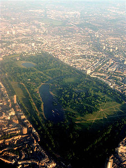 Hyde Park from the air