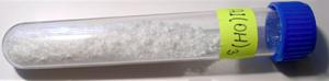 Aluminium hydroxide - Image: Hydroxid hlinitý