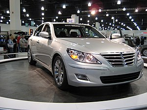 Automotive industry crisis of 2008–10 - The Hyundai Genesis named the 2009 North American Car of the Year.