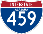 Interstate 459 marker