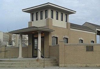 Blue Island station - Image: I.C. Vermont Street Depot