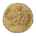 INC-1601-r Ауреус Тит цезарь ок. 75 г. (реверс).png