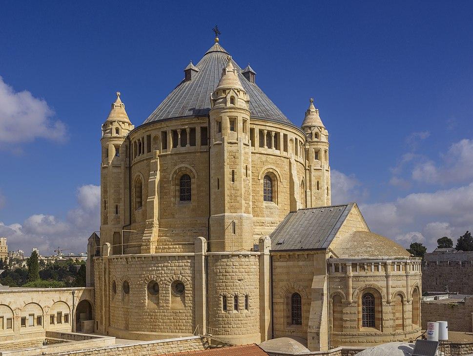 ISR-2015-Jerusalem-Dormition Abbey