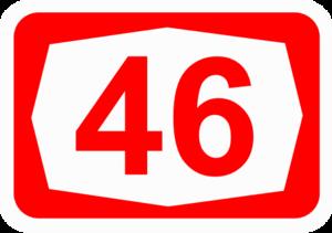 Highway 46 (Israel) - Image: ISR HW46