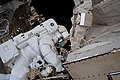 ISS-61 EVA-6 (f) Andrew Morgan upgrades the AMS's thermal pump system.jpg