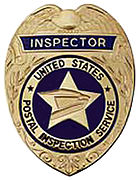 Badge of a Postal Inspector