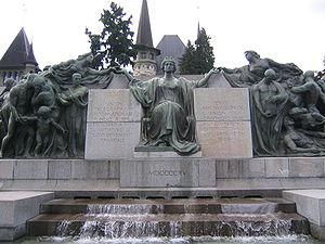 Monumento de Internacia Telekomunika Unio en Berno
