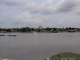 Ichamati River - Ichamati river at Basirhat city