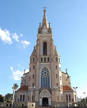 Jaú - Our Lady of Patrocínio Church, in Jaú