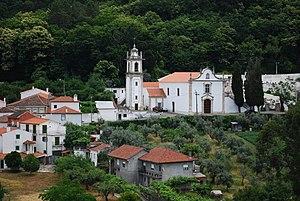 Góis - The Church of Santa Maria Maior in Góis