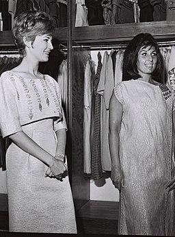 Ilana Rovina with Alma Cogan (1963)