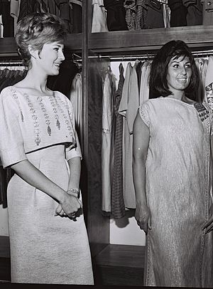 Alma Cogan - Cogan (right) with Israeli singer Ilana Rovina, Tel Aviv, 1963