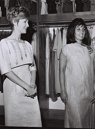 Alma Cogan - Cogan (right) with Israeli singer Ilana Rovina, Tel Aviv, 1963