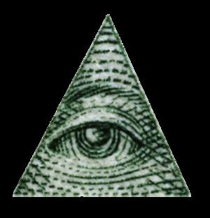 Give Me Your Everything - Image: Illuminati triangle eye