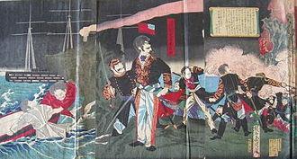 Imo Incident - Image: Imo Incident Toyohara Chikanobu (2)