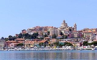Imperia Comune in Liguria, Italy