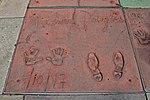 Impronte di Michael Douglas al TCL Chinese Theatre - Los Angeles - USA - agosto 2011.jpg