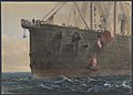 In the Bows of the Great Eastern- The Cable Broken and Lost, Preparing to Grapple, August 2nd, 1865 MET DP801245.jpg