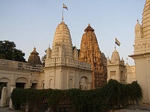 Shantinatha temple, Khajuraho - Renovated Shantinatha temple