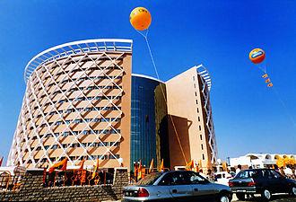 N. Chandrababu Naidu - Hi-Tech City, the crown jewel of Naidu, in Hyderabad