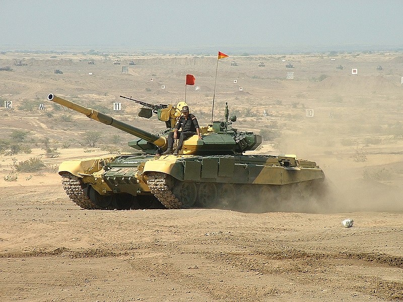tanque pesado t-90 ruso