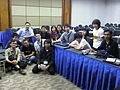 Indonesian Wikipedians in INAICTA 2010.jpg