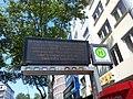Information displays tram stop, Karlsruhe.jpg