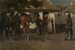 George Hendrik Breitner: Billeting the Troops