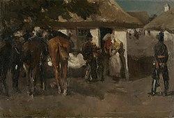 George Hendrik Breitner: Billeting the Troops