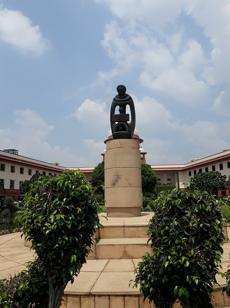 Inside the Supreme Court of India. 16