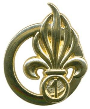 1st Foreign Engineer Regiment - Image: Insigne de béret du 1er REG