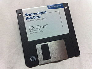 Logical block addressing - Installation of Western Digital's EZ Drive, on a 3.5-inch floppy disk.
