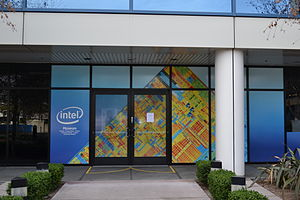 Intel Museum - Image: Intel Museum entrance