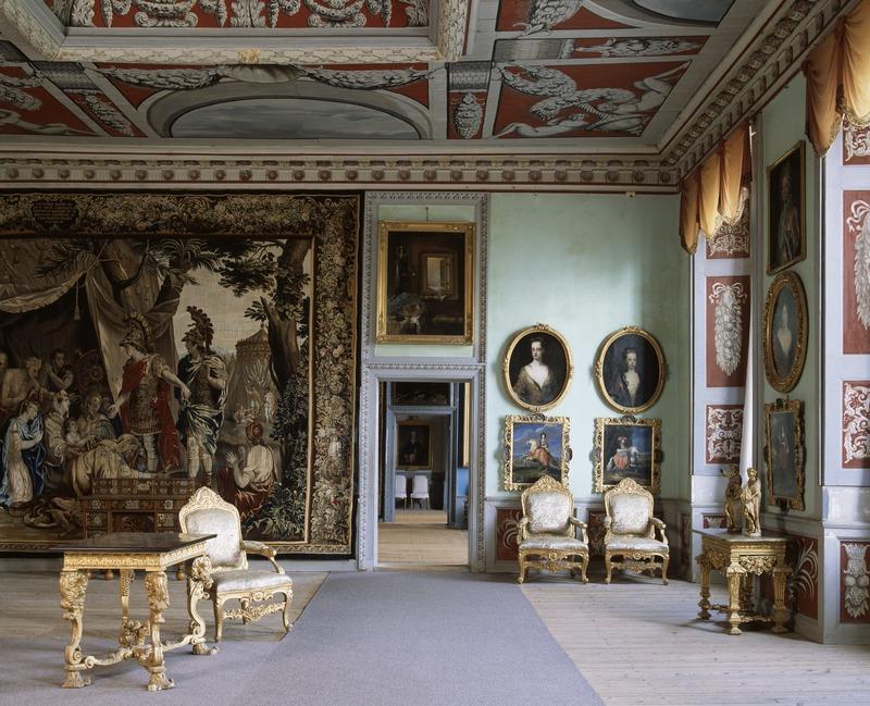 Interiör. Gästrumsvåningen. Genève - Skoklosters slott - 13422.tif