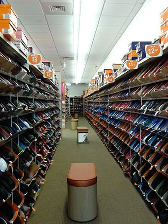 2f1d08b7be973e Interior of a Payless ShoeSource in Groveton