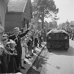 Intocht van het Canadese 1e Leger in de provincie Utrecht, Bestanddeelnr 900-2770