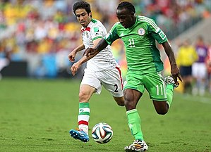 Iran and Nigeria match at the FIFA World Cup 2014-06-12 15.jpg