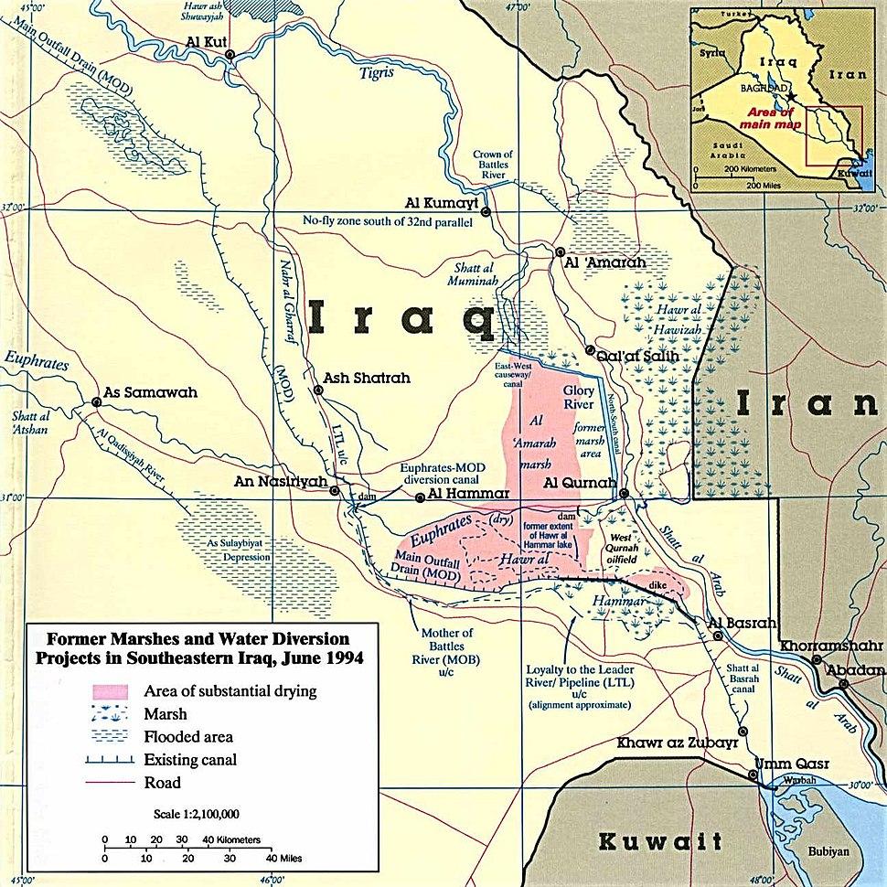 Iraq marshes 1994