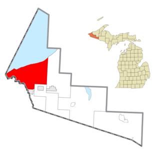 Ironwood Charter Township, Michigan Charter township in Michigan, United States