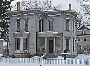 National Register of Historic Places listings in Ottawa County, Michigan - Image: Isaac Cappon House